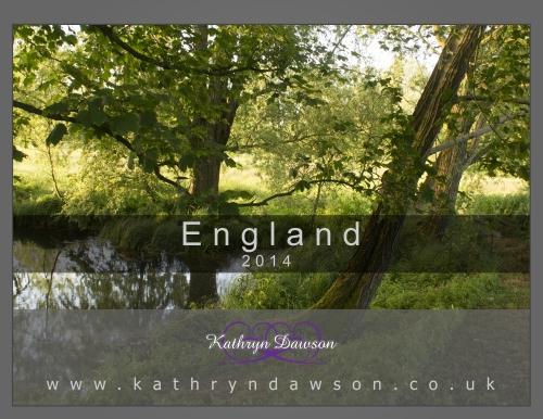 Calendar 2014 England Cover