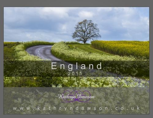 Calendar 2015 England Cover